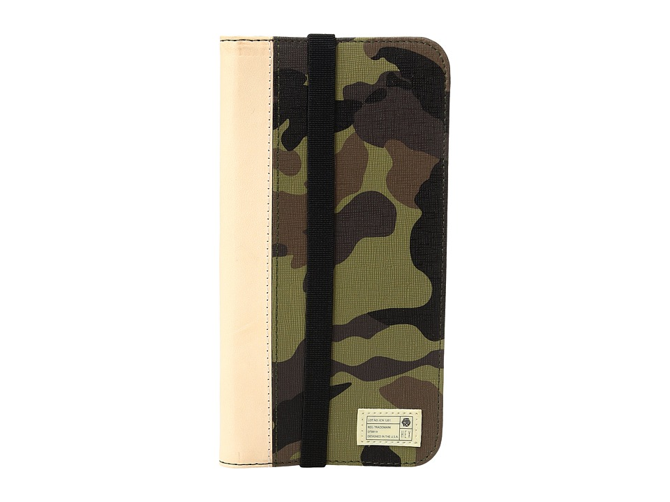 HEX - Icon Wallet iPhone 7 Plus (Camo Leather) Cell Phone Case