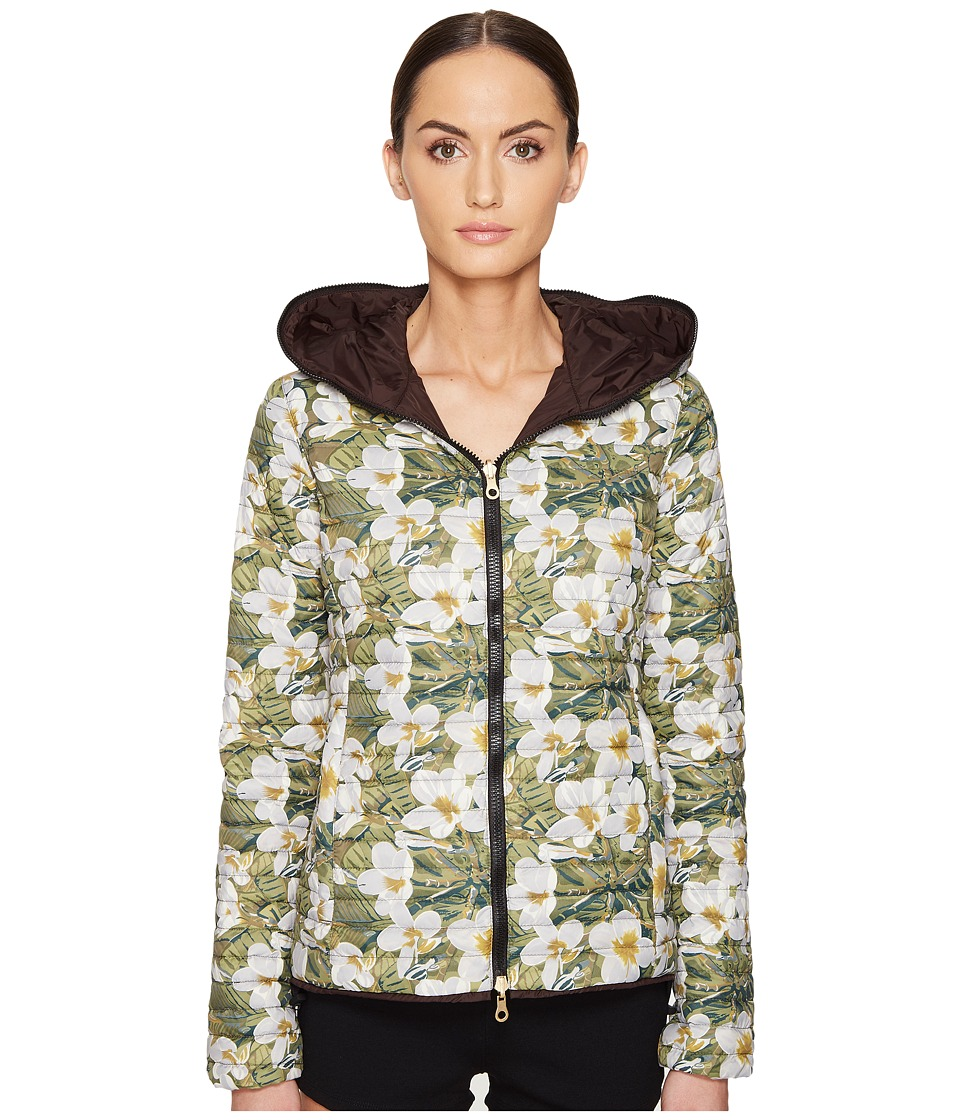 DUVETICA - Cariatre-Erre Reversible Zip-Up Hoodie (Frangipane) Women's Coat