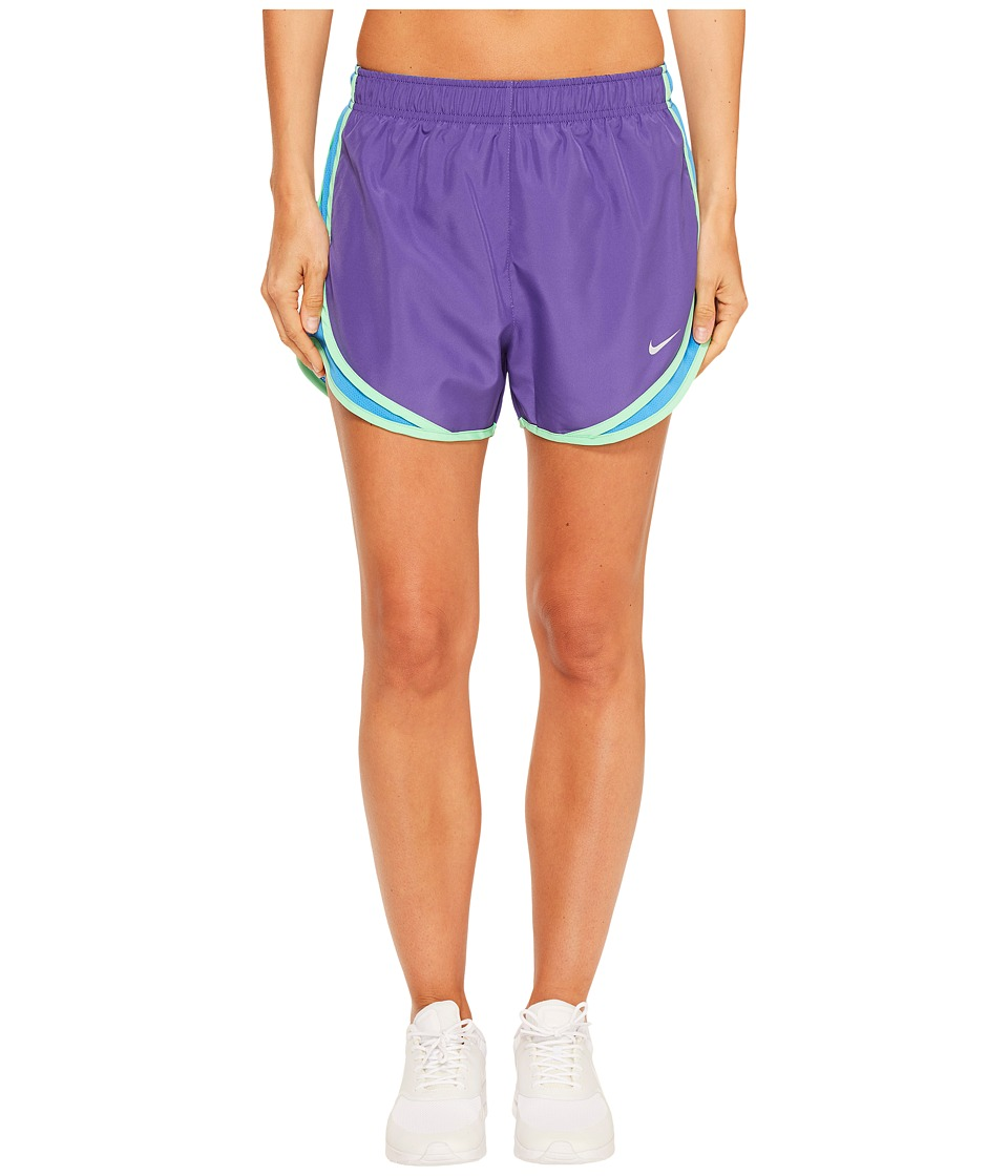Nike Dry Tempo Short (Dark Iris/Light Photo Blue/Wolf Grey) Women
