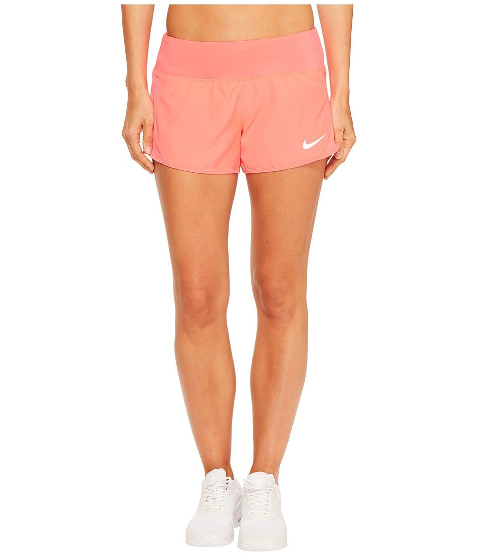 Nike - Crew Shorts (Racer Pink/Racer Pink) Women's Shorts