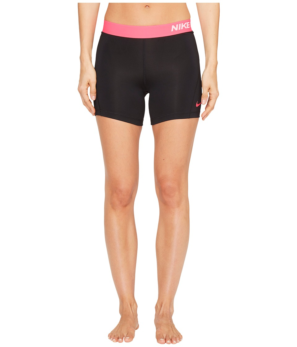 Nike - Pro 5 Cool Training Short (Black/Racer Pink/Racer Pink) Women's Shorts