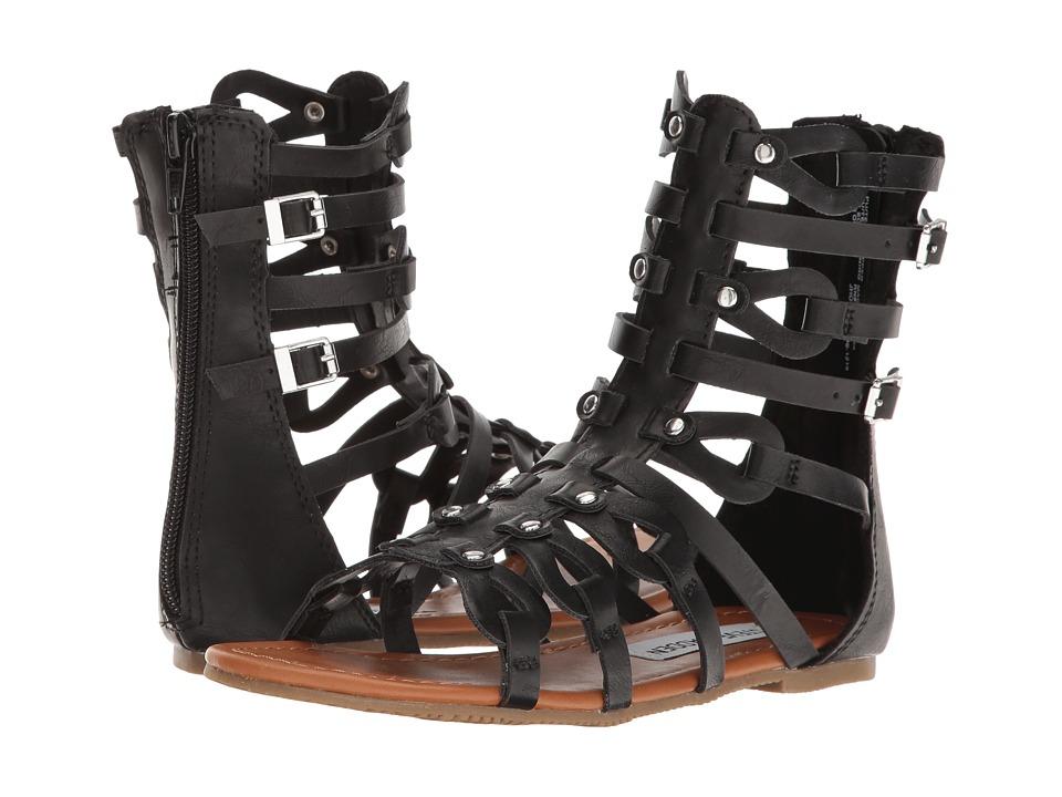 Steve Madden Kids - Jholland (Little Kid/Big Kid) (Black) Girl's Shoes