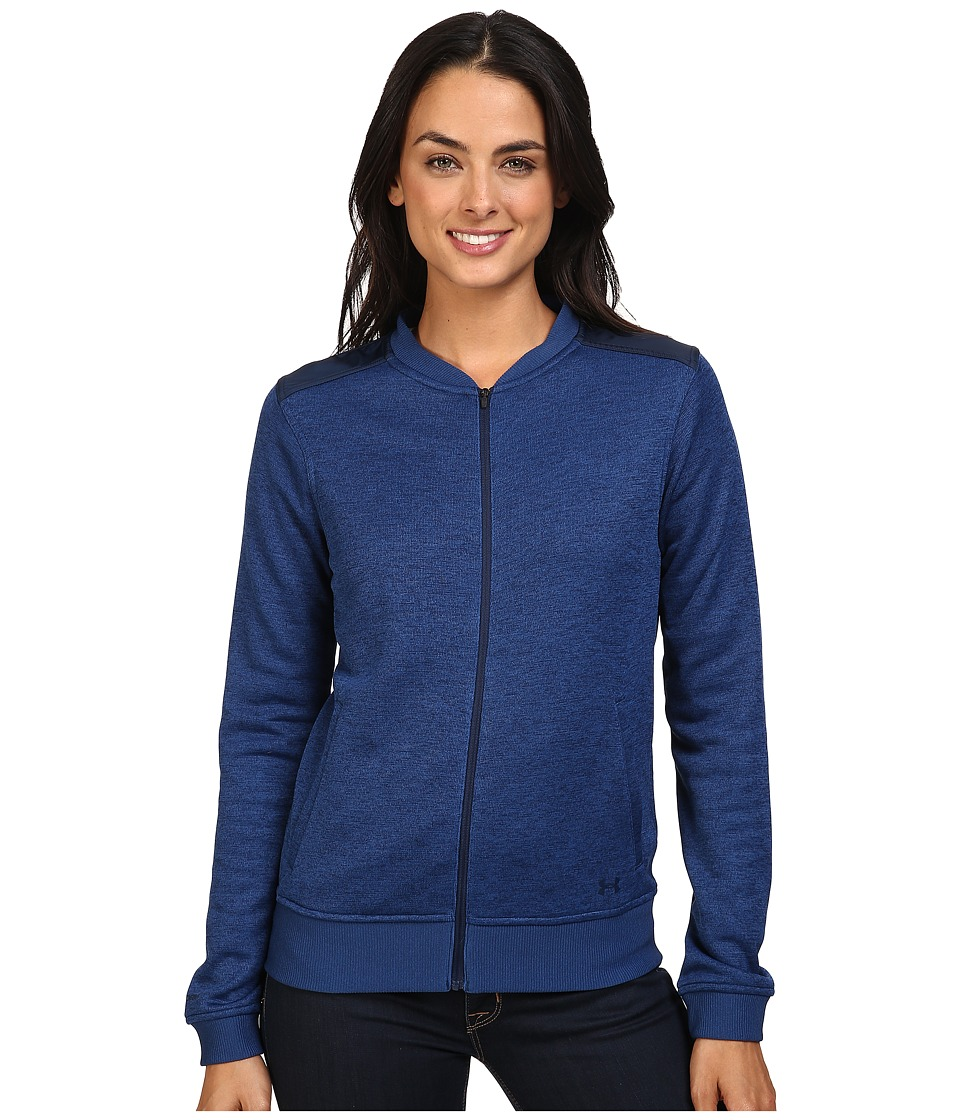 Under Armour - UA Storm Sweater Fleece Jacket (Heron) Women's Coat