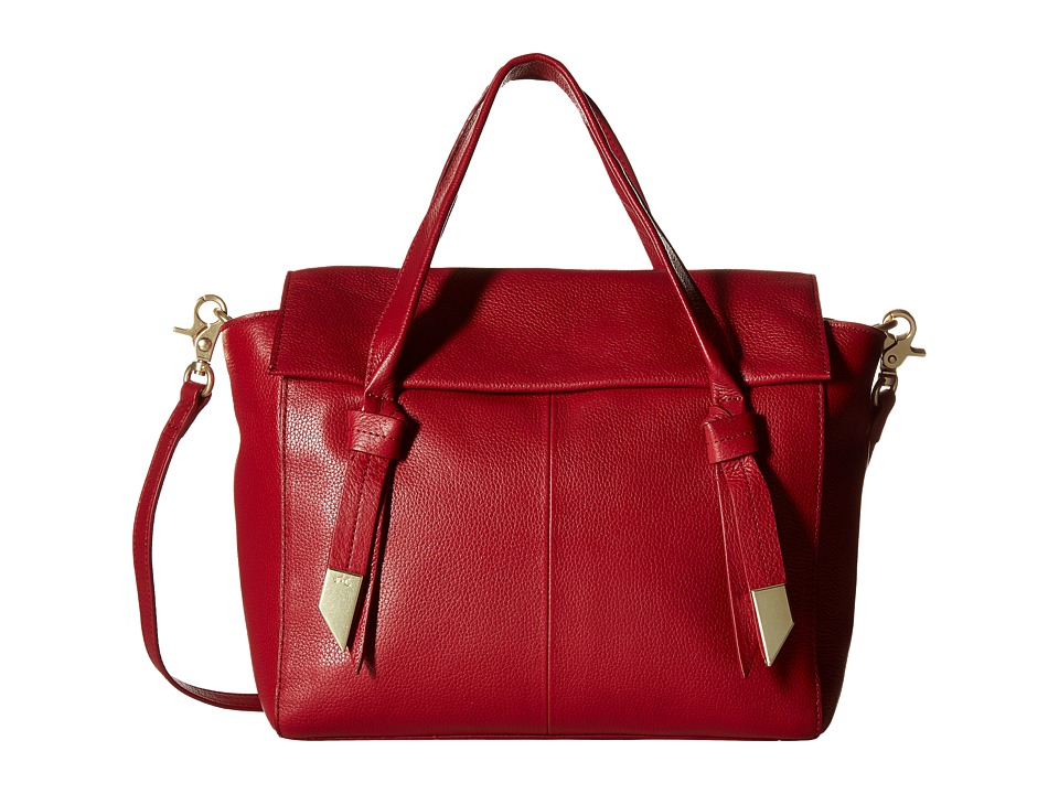 Foley & Corinna - Trillion Satchel (Ruby) Satchel Handbags