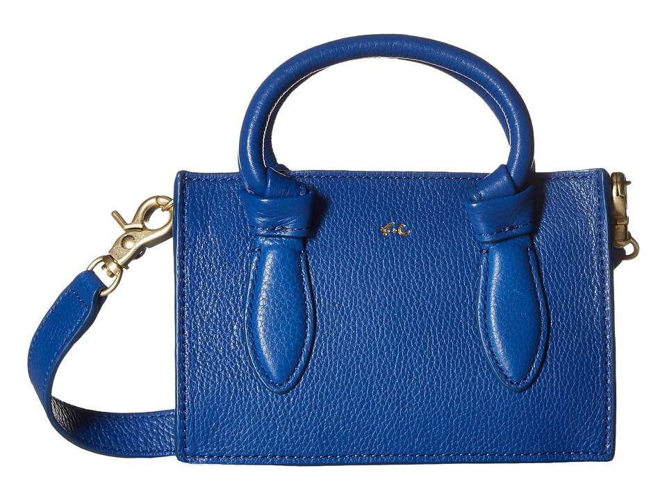 Foley & Corinna - Marquise Mini Crossbody (Sapphire) Cross Body Handbags