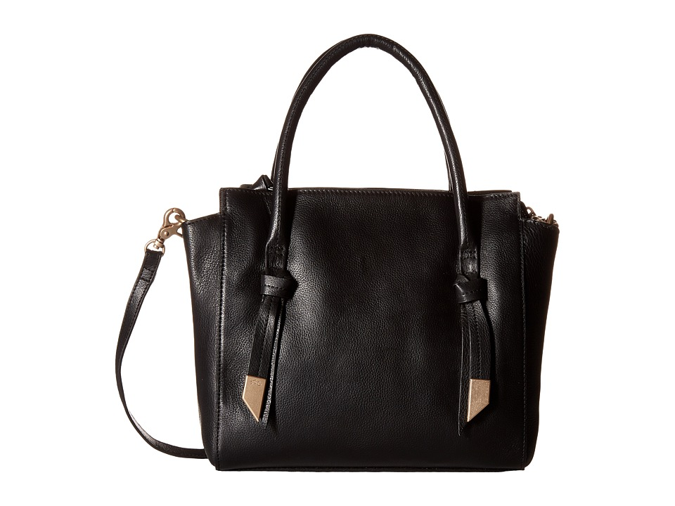 Foley & Corinna - Trillion Satchel (Black) Satchel Handbags