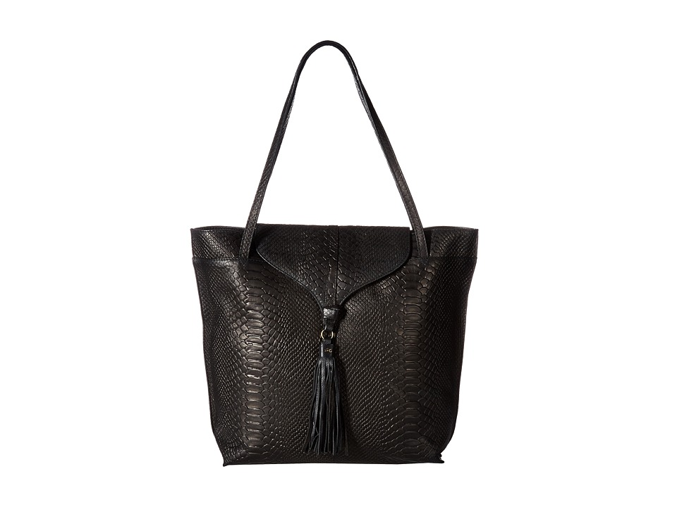 Foley & Corinna - Arrow Tote (Black Python) Tote Handbags