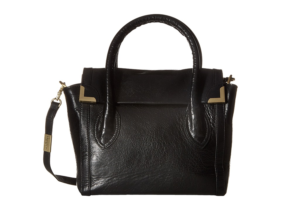 Foley & Corinna - Frankie Flap Satchel (Black) Satchel Handbags