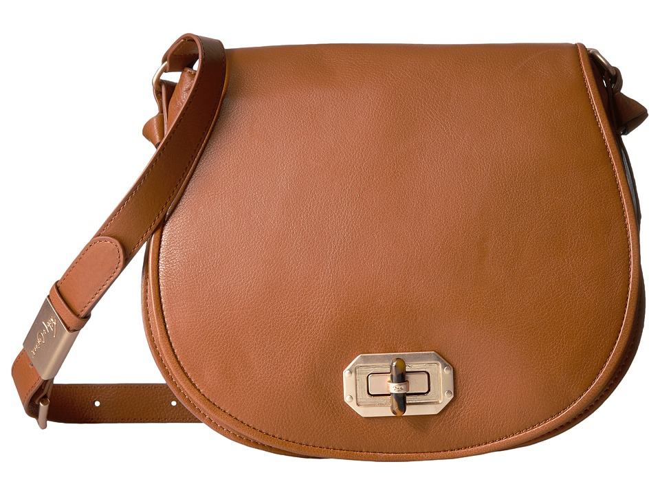 Foley & Corinna - Whitney Saddle Bag (Honey Brown) Bags
