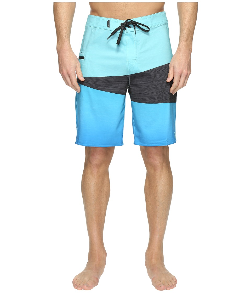 Rip Curl - Mirage Wedge Boardshorts (Blue) Men's Swimwear