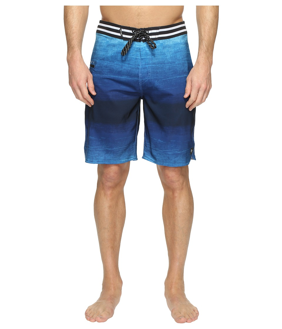 Rip Curl - Mirage Revert Boardshorts (Blue) Men's Swimwear
