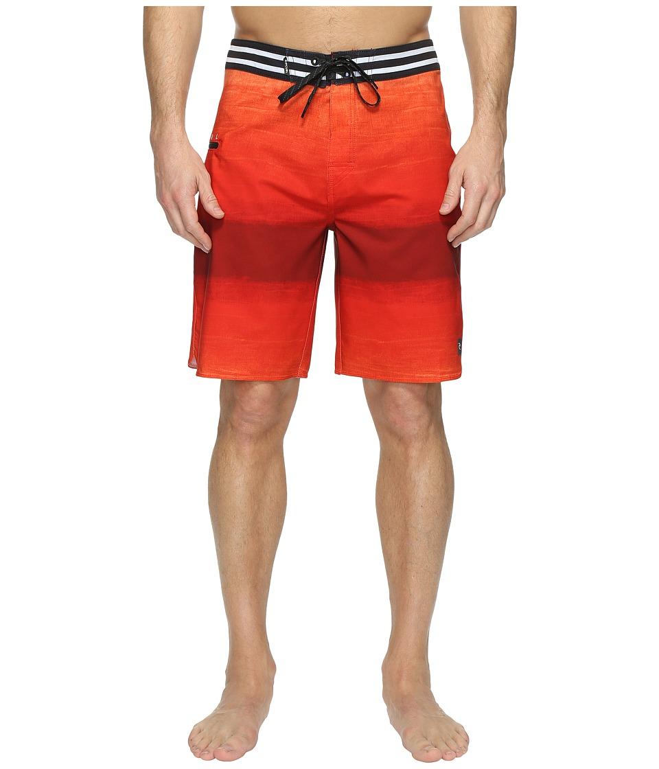 Rip Curl - Mirage Revert Boardshorts (Red) Men's Swimwear
