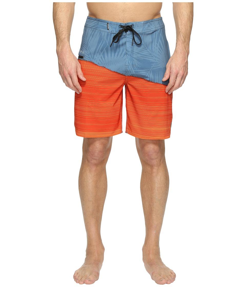 Rip Curl - Mirage Gravity Boardshorts (Red Orange) Men's Swimwear