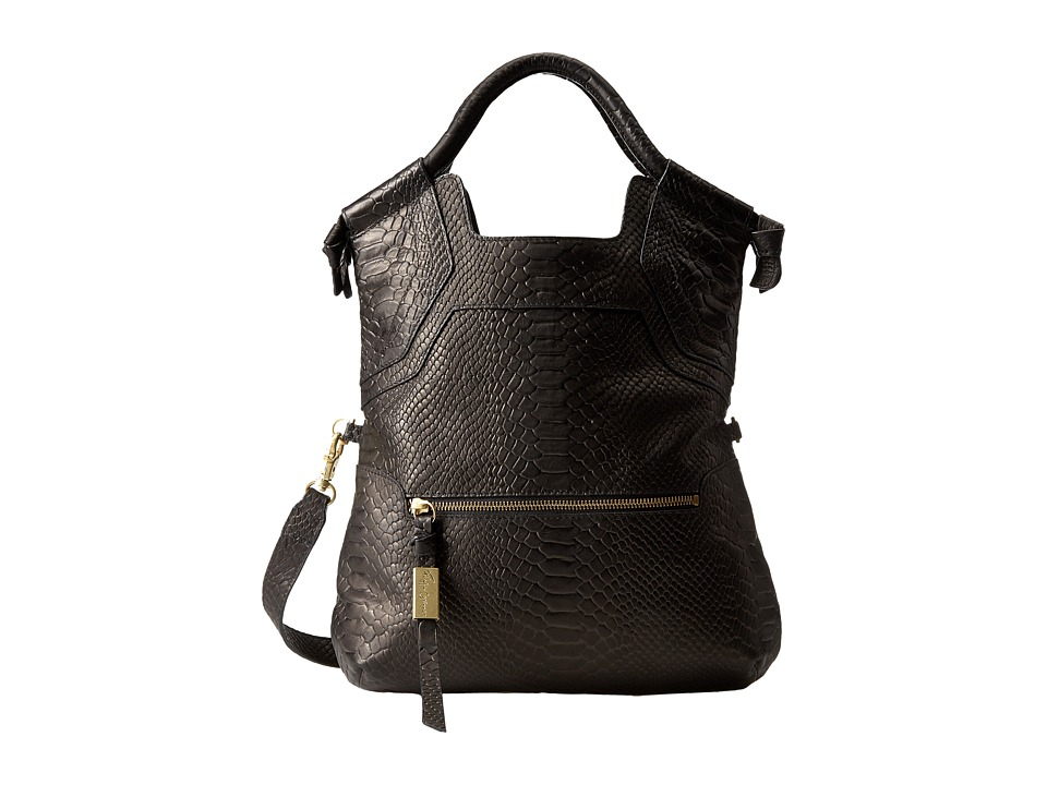 Foley & Corinna - Essential City Tote (Black Python) Tote Handbags