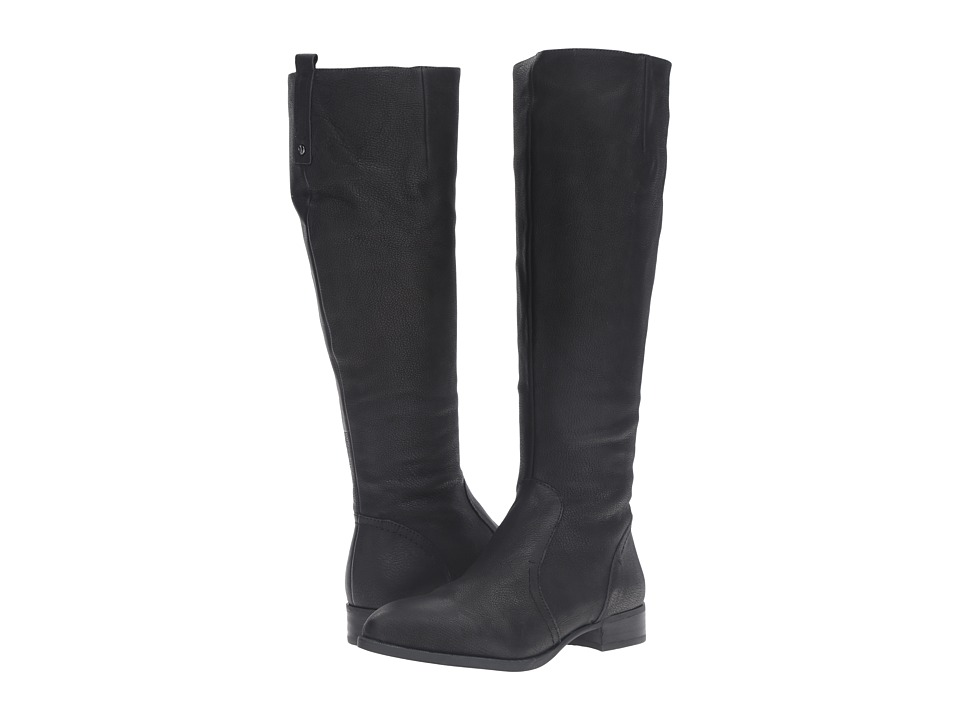 Nine West - Nicolah (Black Leather 1) Women's Dress Zip Boots