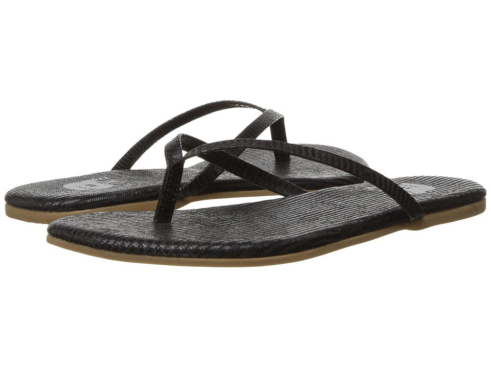 Amiana - 12-A885 (Toddler/Little Kid/Big Kid/Adult) (Black Lizard) Girl's Shoes