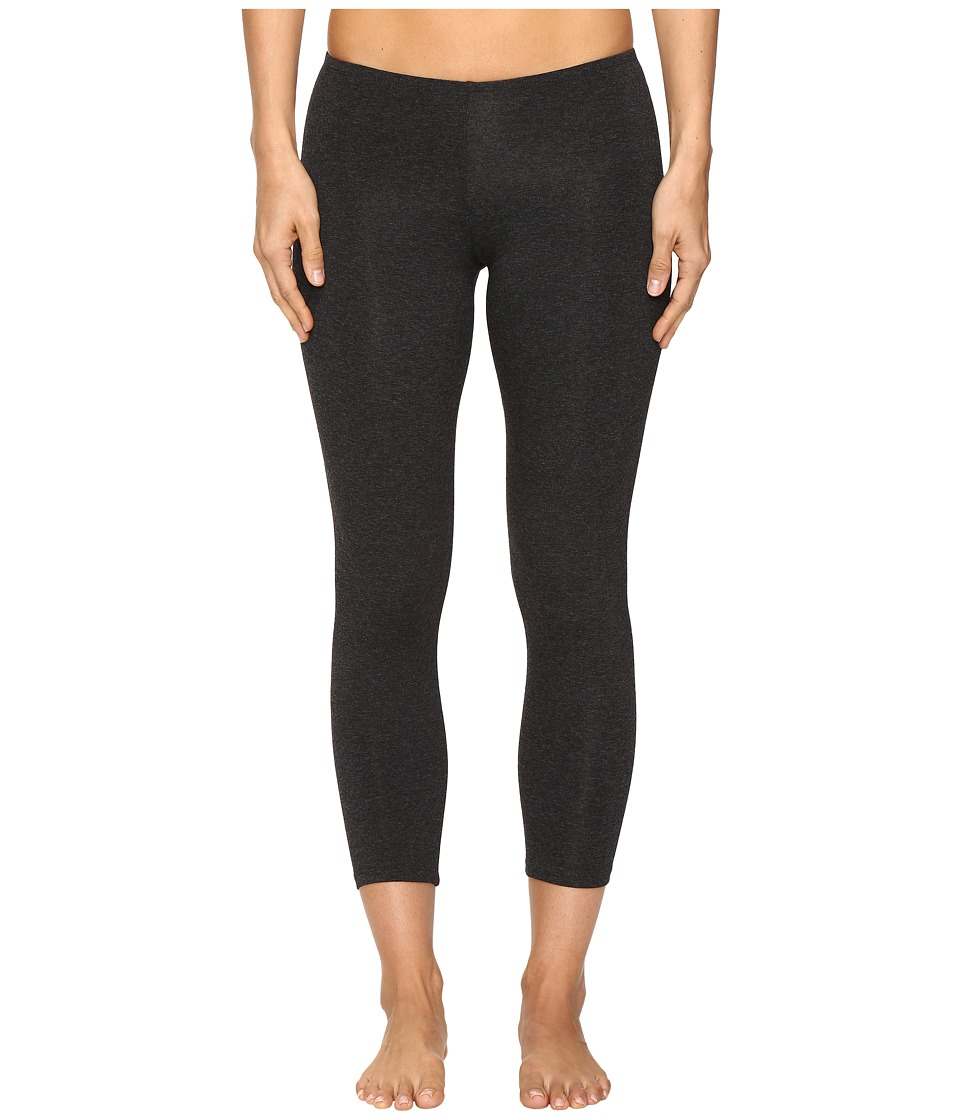 Only Hearts So Fine Crop Leggings (Carbon Heather) Women's Casual Pants