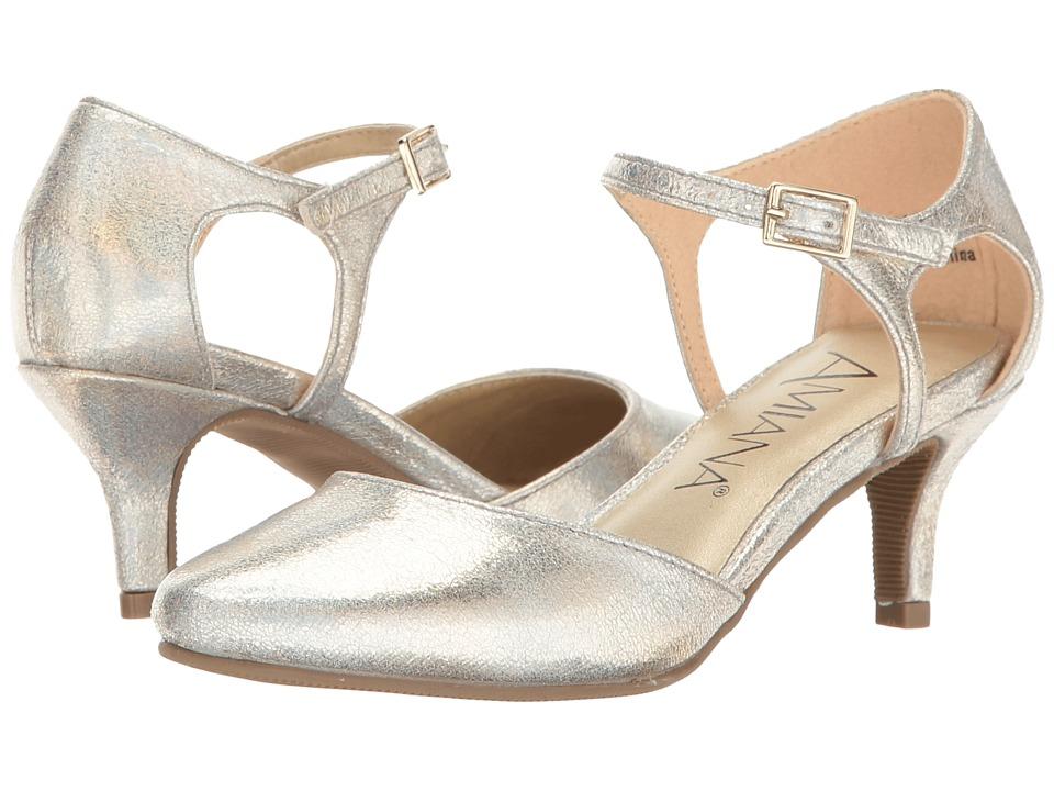 Amiana - 15-A5451 (Little Kid/Big Kid/Adult) (Gold Aura Metallic) Girl's Shoes