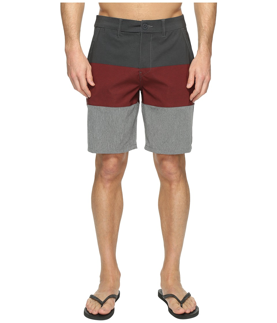 Rip Curl - Mirage Chambers Boardwalk Walkshorts (Red) Men's Shorts