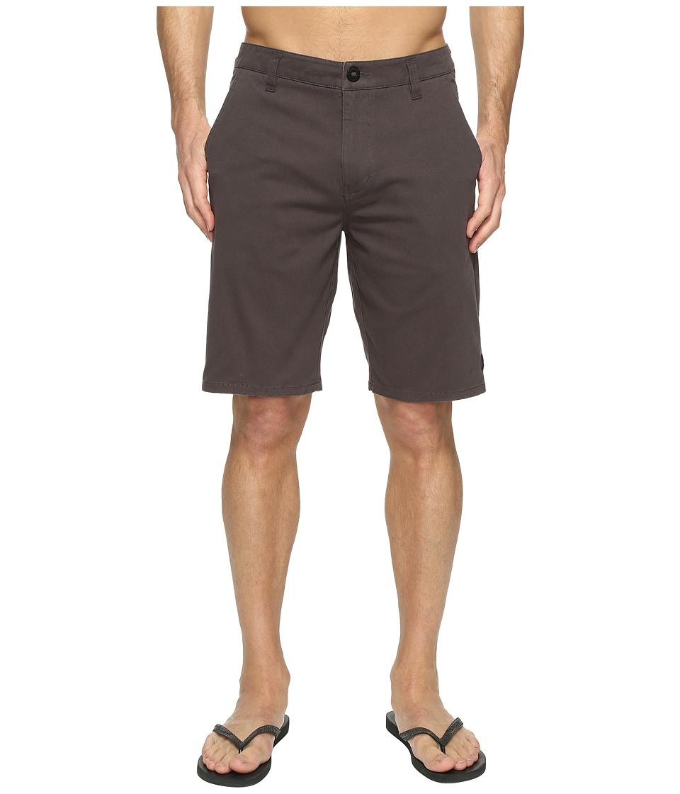 Rip Curl - Epic Stretch Chino Walkshorts (Charcoal) Men's Shorts