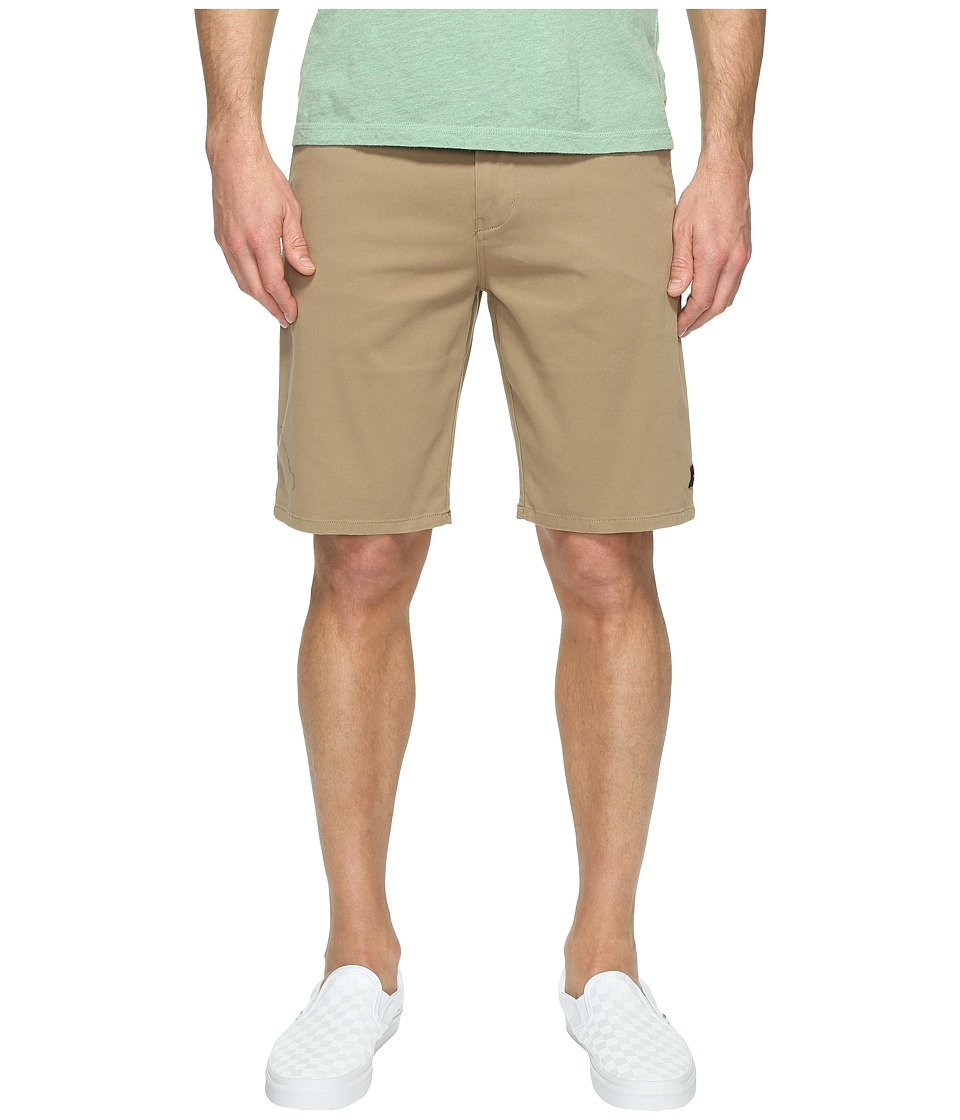 Rip Curl - Epic Stretch Chino Walkshorts (Khaki) Men's Shorts
