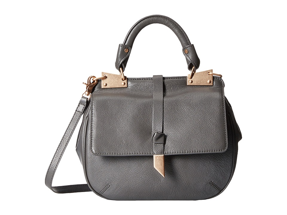 Foley & Corinna - Dione Saddle Bag (Luna Smoke) Bags