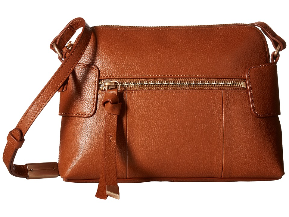 Foley & Corinna - Emma Crossbody (Honey Brown) Cross Body Handbags