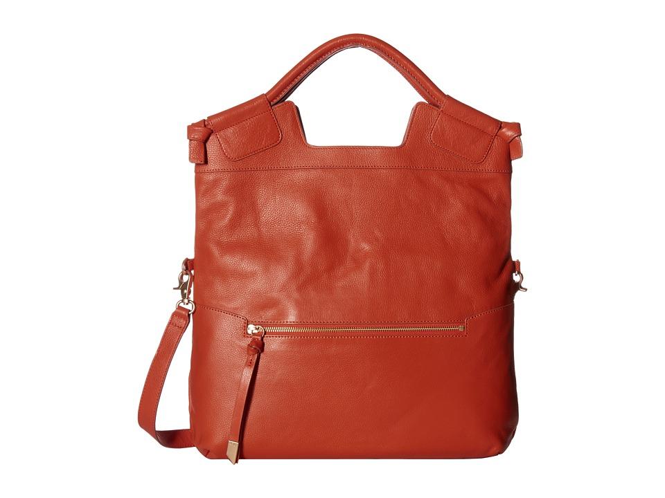 Foley & Corinna - Mid City Tote (Papaya) Tote Handbags