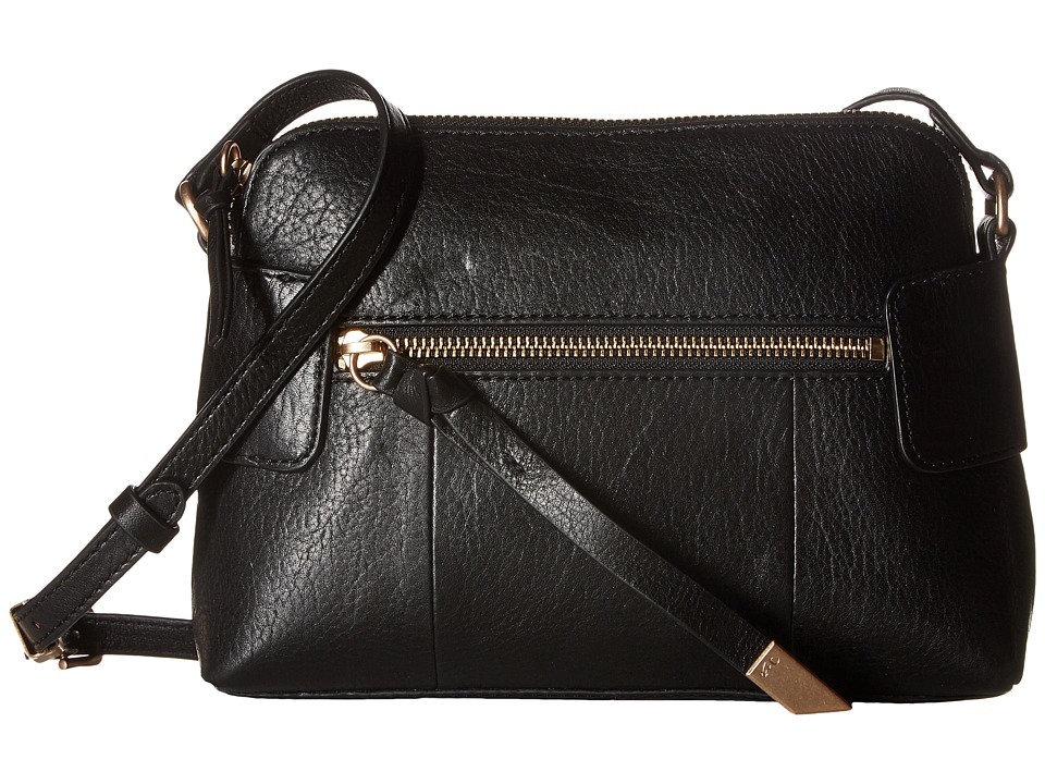 Foley & Corinna - Emma Crossbody (Black) Cross Body Handbags