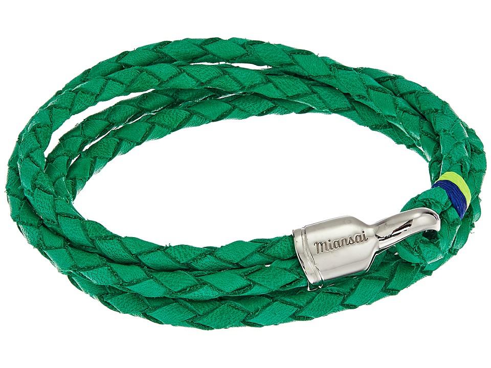 Miansai - Trice Silver Bracelet (Kelly) Bracelet