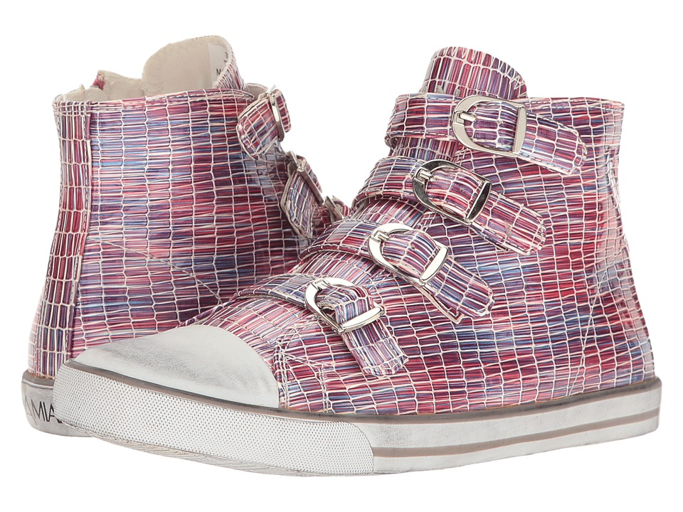 Amiana - 15-A5172 (Toddler/Little Kid/Big Kid/Adult) (Fuchsia Tile Patent) Girls Shoes