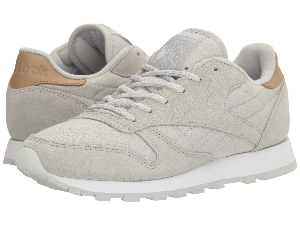 Reebok Lifestyle - Classic Leather Sea-Worn (Skull Grey/White) Women's Shoes
