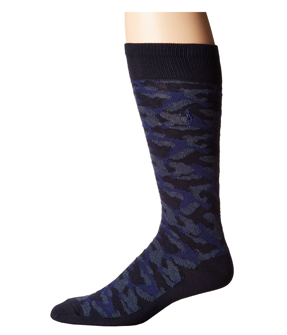 Polo Ralph Lauren Camo Boot Single (Navy) Men