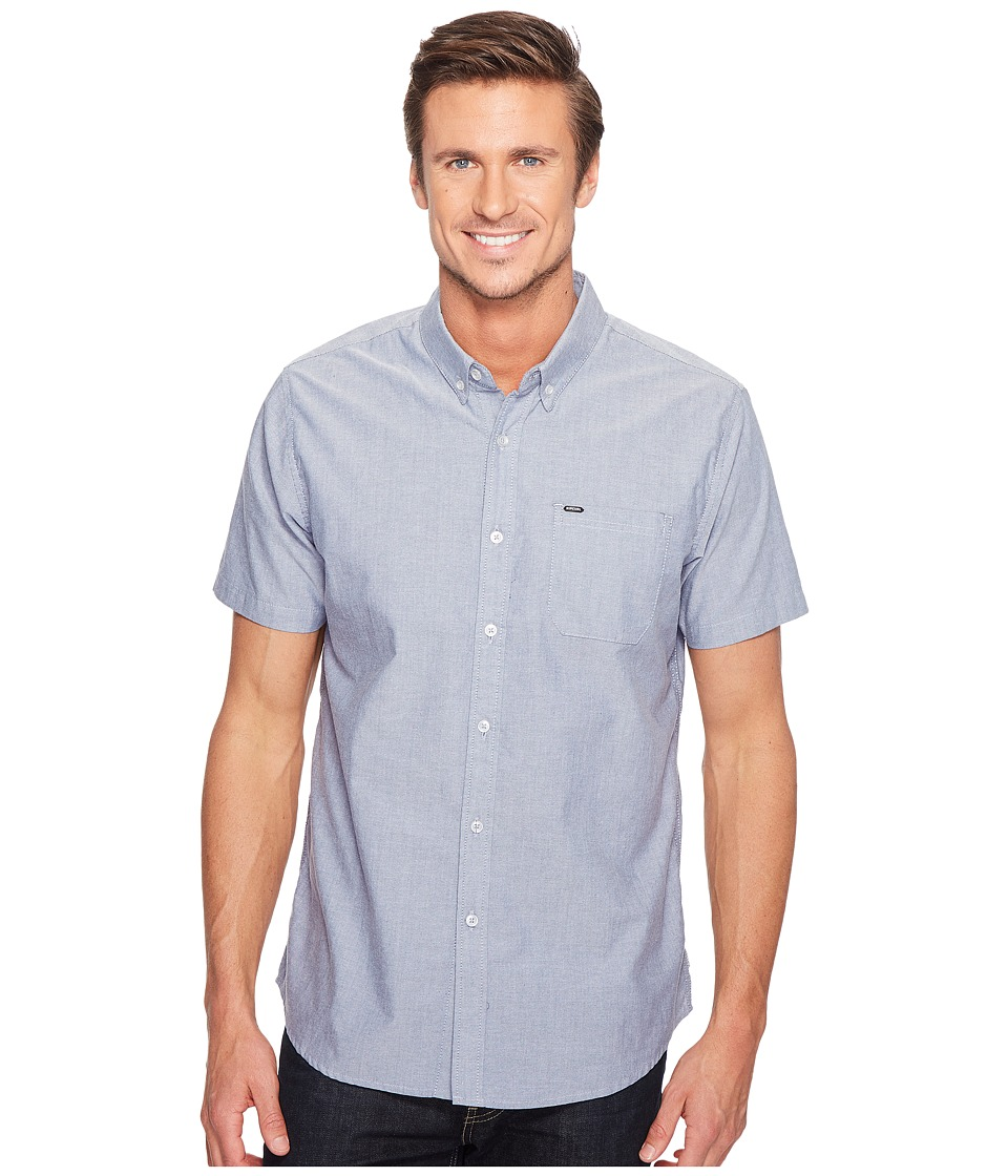 Rip Curl - Ourtime Short Sleeve Shirt (Insignia Blue) Men's Clothing