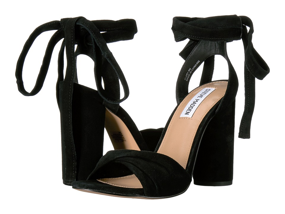Steve Madden - Clary (Black Suede) Women's Shoes