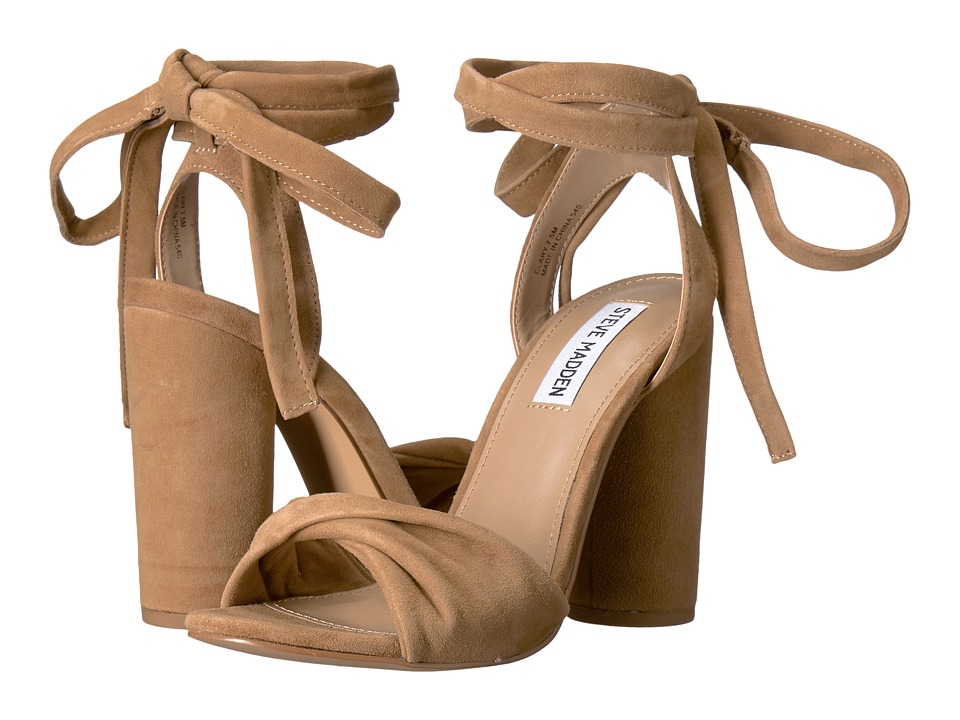 Steve Madden - Clary (Camel Suede) Women's Shoes
