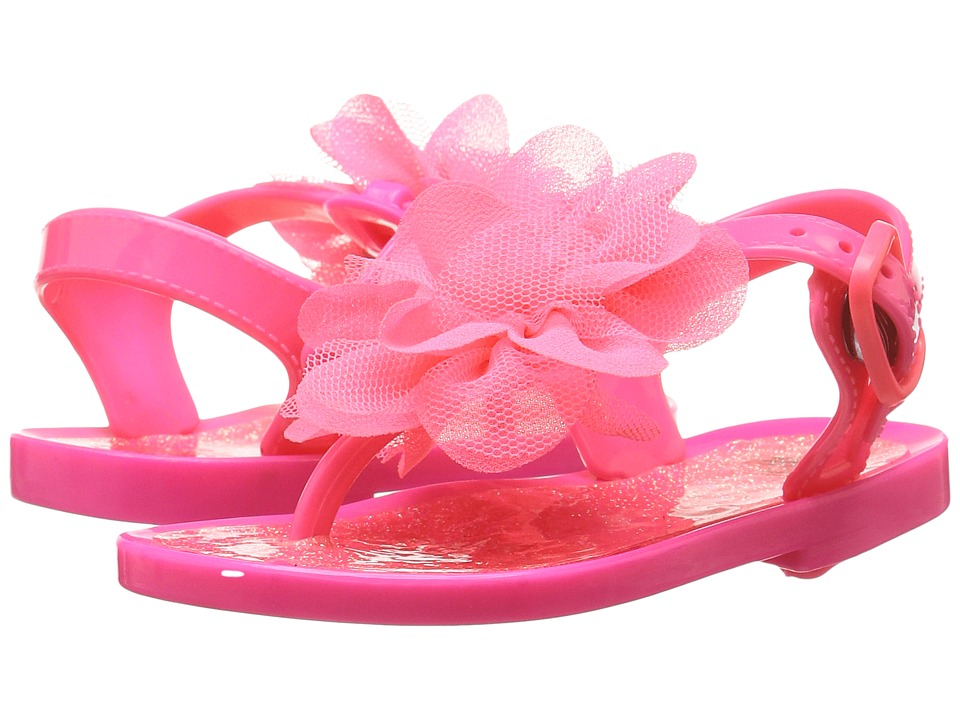 Baby Deer - Jelly T-Strap Sandal (Infant/Toddler) (Fuchsia) Girls Shoes