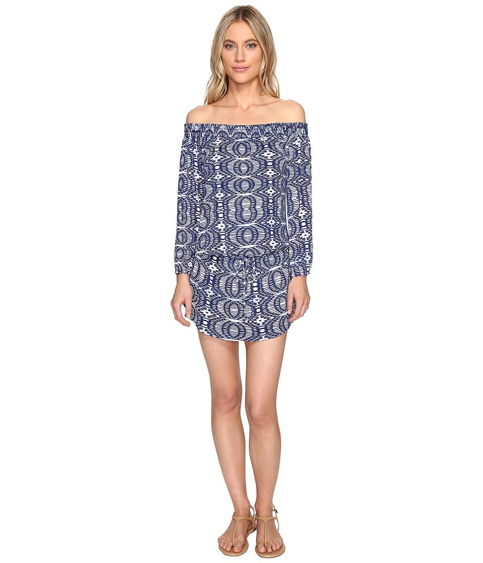Lucy Love - West Indies Dress (Blue Eclipse) Women's Dress
