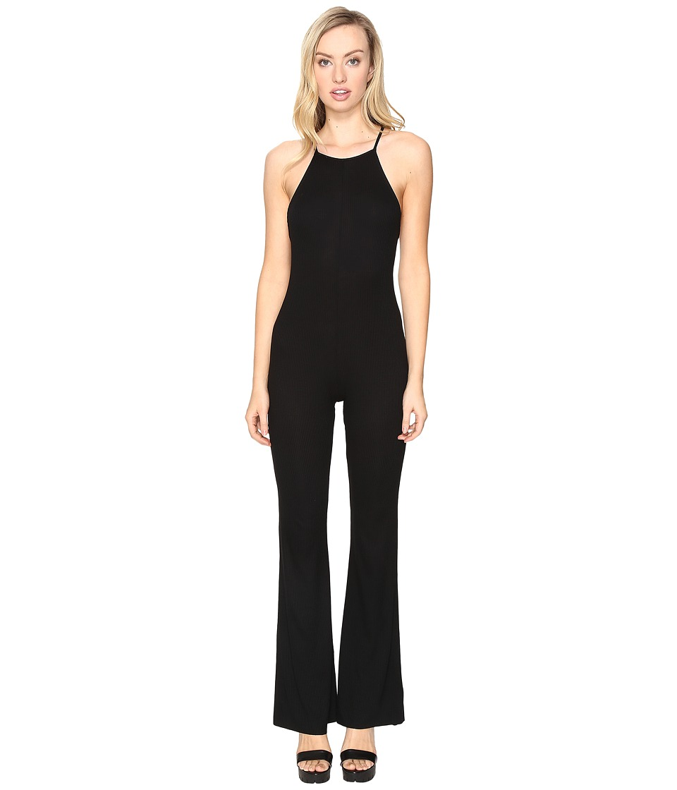 Lucy Love - Body Stocking (Solid Black) Women's Jumpsuit & Rompers One Piece