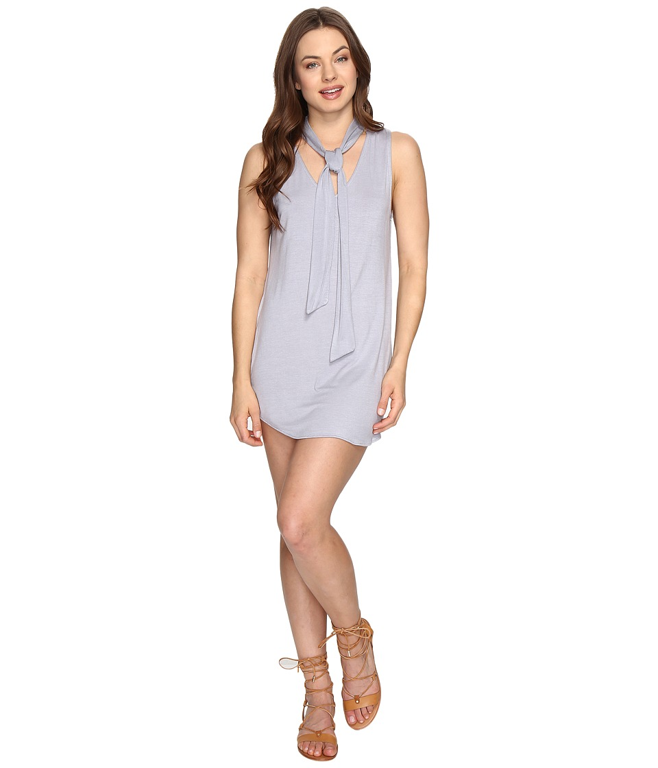 Lucy Love - Start Fresh Dress (Silver) Women's Dress