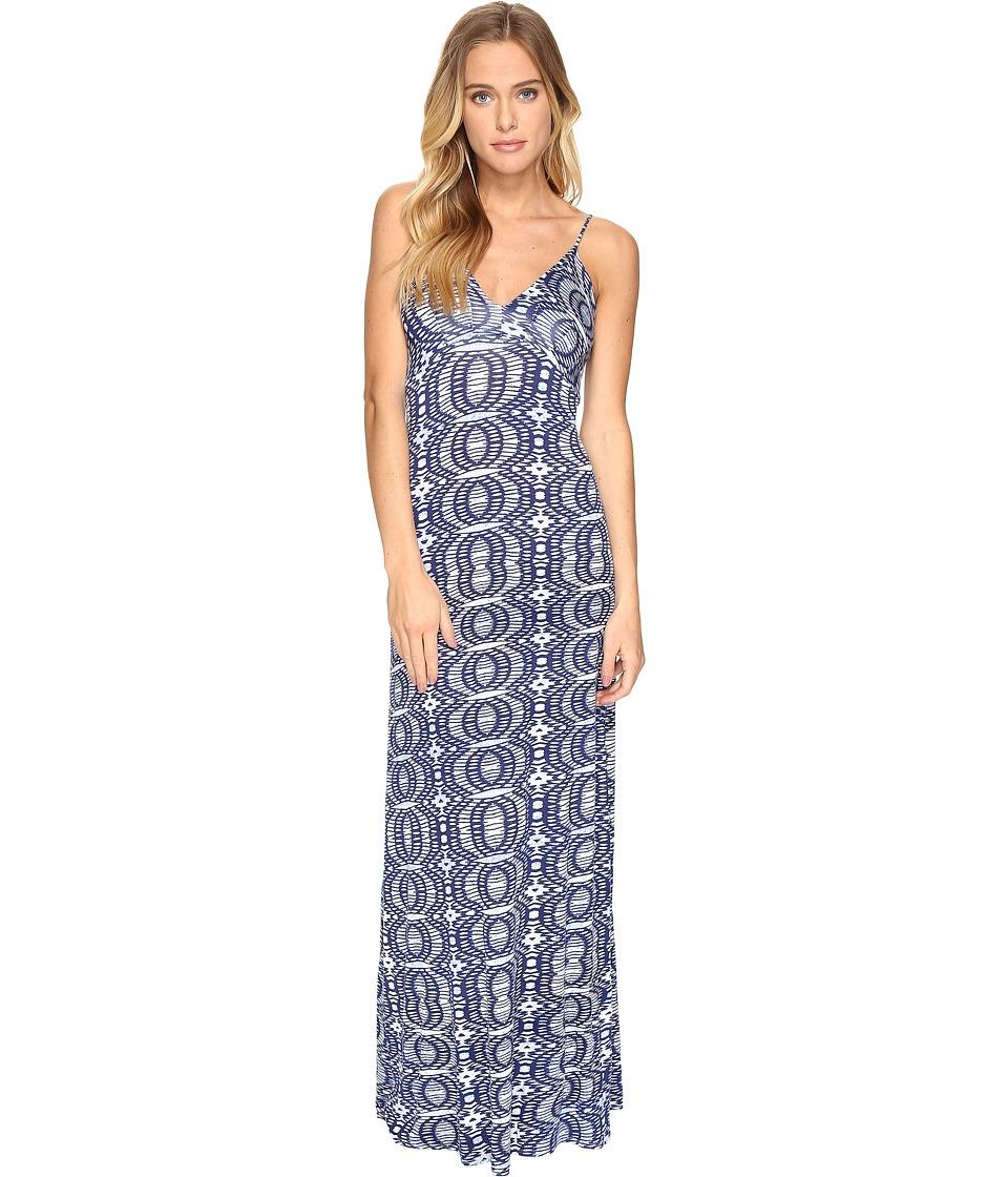 Lucy Love - Wanderlust Maxi (Blue Eclipse) Women's Dress