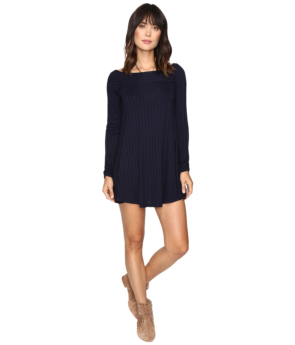Lucy Love - Chill Dress (Navy) Women's Dress