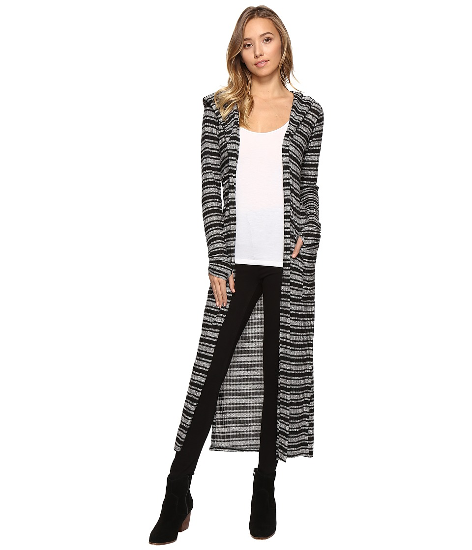 Lucy Love - Crazy Good Duster (Black Out) Women's Clothing
