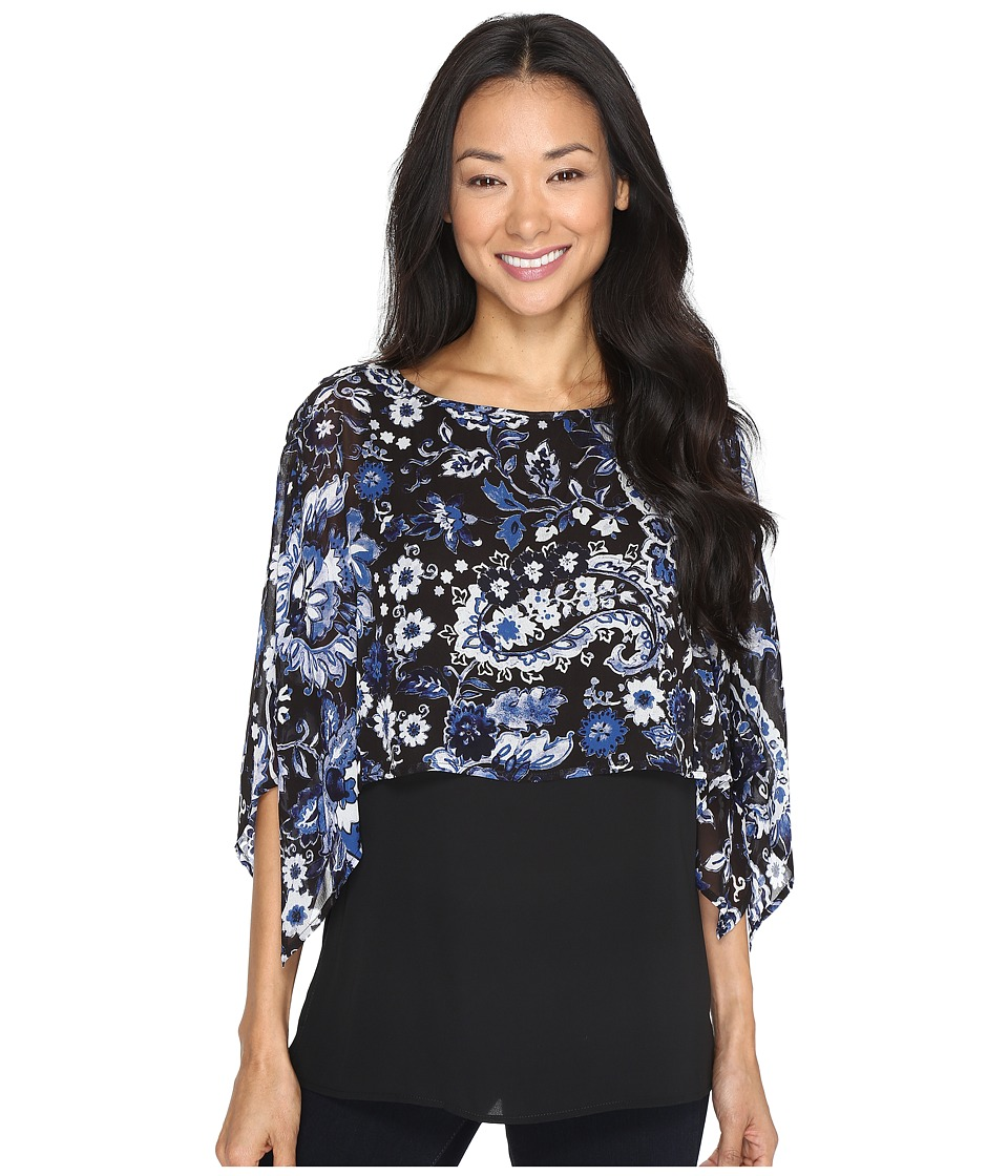 Karen Kane - Double Layer Top (Print) Women's Clothing
