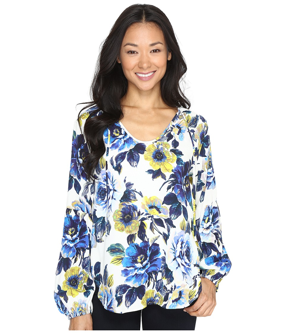 Karen Kane - Blouson Sleeve Top (Print) Women's Clothing