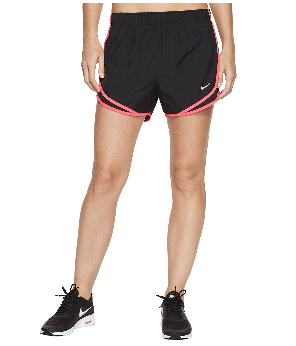 Nike Dry Tempo Short (Black/Black/Racer Pink/Wolf Grey) Women