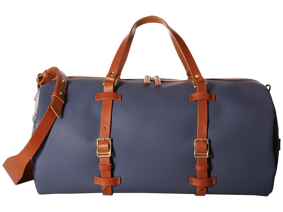 Miansai - Duval Duffel (Navy/Cognac) Duffel Bags
