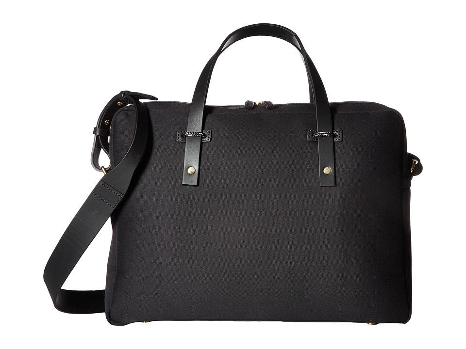Miansai - Fulton Briefcase (Black/Black) Briefcase Bags