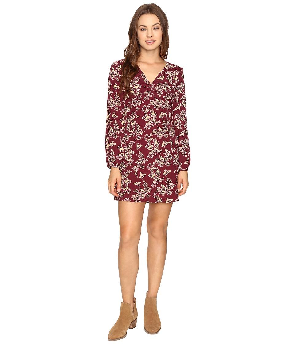 Lucy Love - Castle Rock Dress (Oxblood) Women's Dress