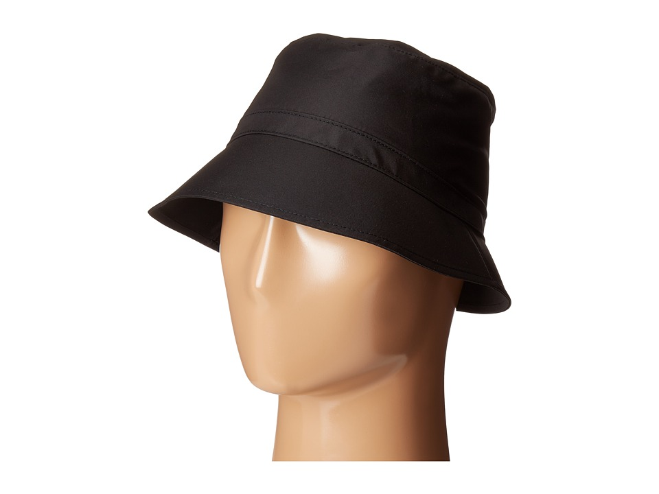 Kate Spade New York - Nylon Bucket Hat (Black 1) Caps